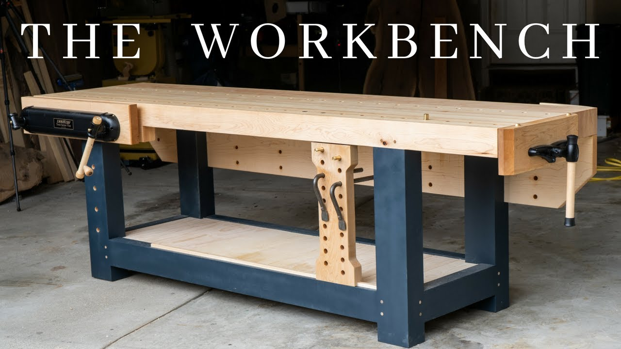 The Perfect Woodworking Workbench How To Build The