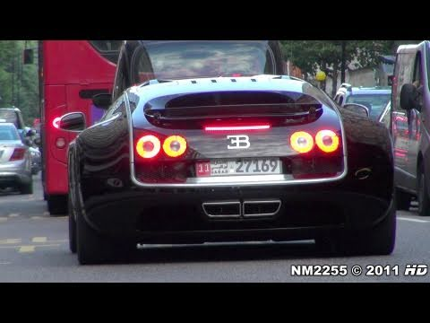 Bugatti Veyron Super Sport Sounds on Road!!