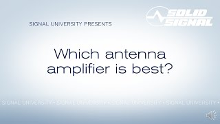 What Kind of Amplifier is Best?
