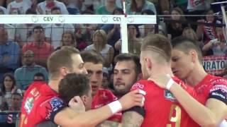 29-04-2017: #clf4rome - Perugia conquista la finale ci Champions battendo Civitanova (clip)