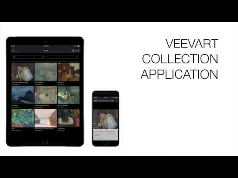 Veevart Collection - Present and share artworks with and without internet access