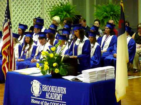 Shelby's Speech at Graduation at Brookhaven Academy in Mississippi