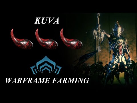 Warframe Farming - Kuva (TWW Spoilers)