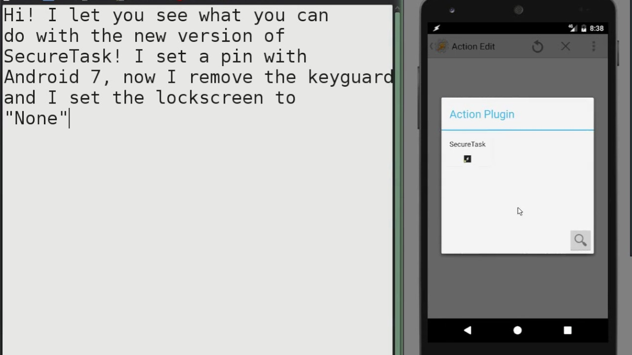 keyguard test activity android