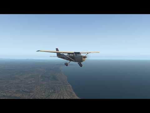X Plane 11 Gillespie field (KSEE) to Oceanside (KOCN) in San Diego
