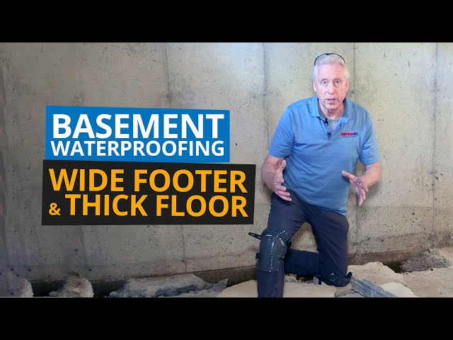 Basement Waterproofing Footing and Floor | Cookie-Cutter Systems Are Trouble