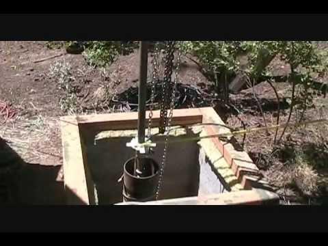 Deep Well Pump Installation Wmv Youtube