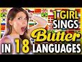 1 GIRL 18 LANGUAGES - Butter (방탄소년단) - BTS (Multi-Language cover by Eline Vera)