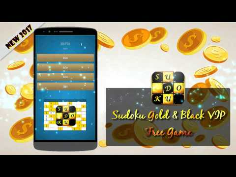 Sudoku Gold VIP: Free Gold And Black Sudoku Game For Android
