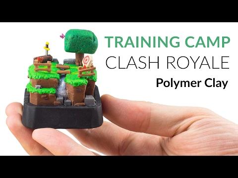 Clash Royale (Training Camp) – Polymer Clay Tutorial
