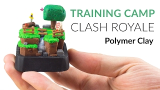 Trainingslager (Clash Royale) – Polymer Clay Anleitung