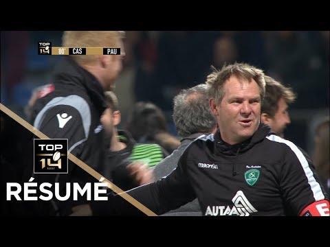 TOP 14 - Résumé Castres - Pau : 27-29 - J19 - Saison 2017/2018