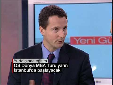 QS World MBA Tour director interview on CNN TURK