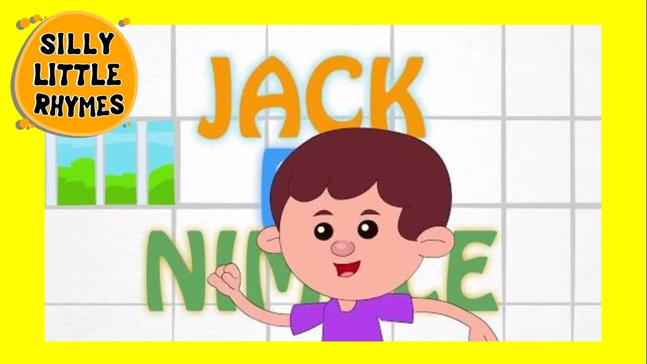 jack be nimble english nursery rhymes for kids hd animated youtube. Black Bedroom Furniture Sets. Home Design Ideas