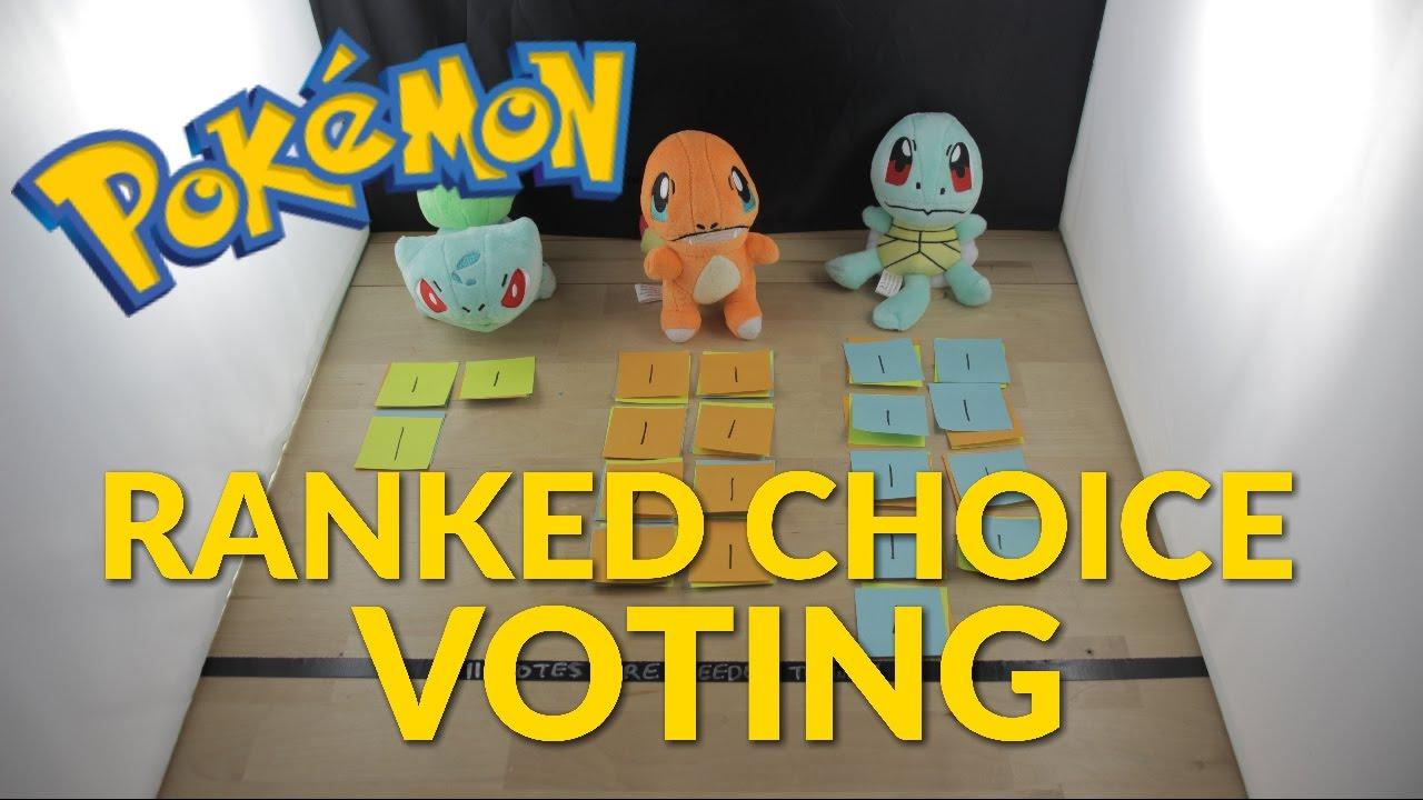 Ranked-Choice Voting Explained with Pokémon (Maine ...