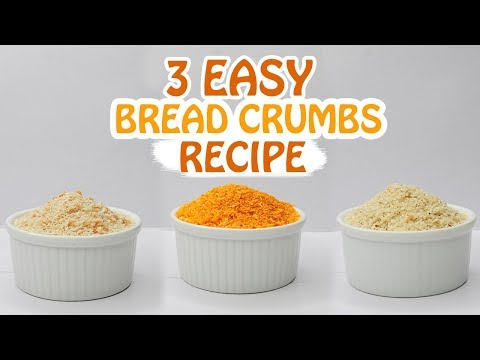 3 Easy Bread Crumbs Recipe