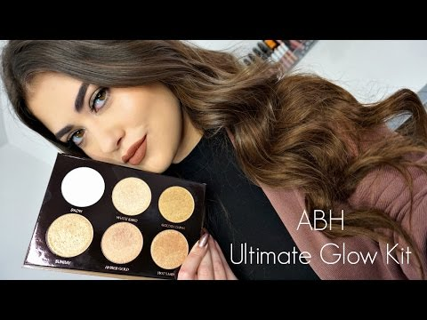Anastasia Beverly Hills ULTIMATE GLOW Kit! Review & Swatches