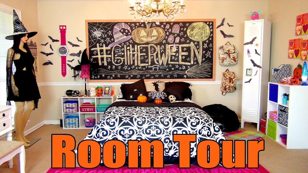 halloween room tour - Halloween Room