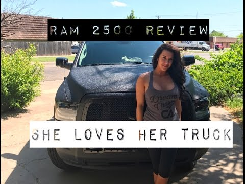 RAM 2500 CUMMINS TURBO REVIEW AND BURNOUT!