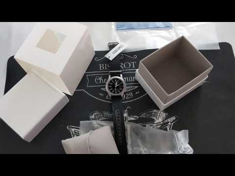 Unboxing Seiko SNK809 K2 (black) In 2019 From CreationWatches.com