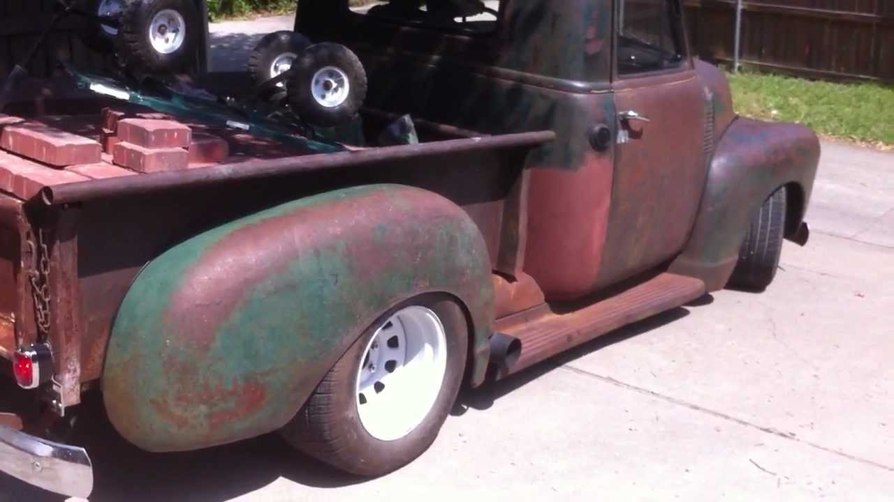1951 chevrolet truck 53l s10 chassis youtube