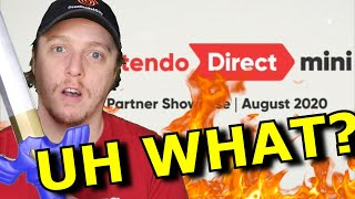 Gamers are MAD at that Nintendo Direct Mini...