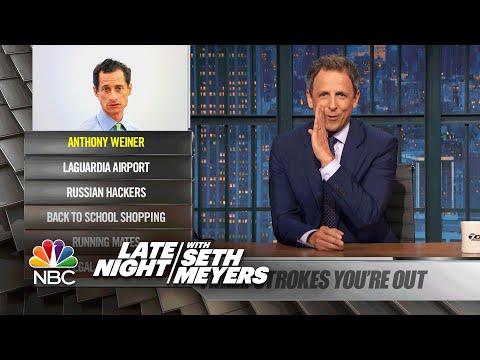 Ya Burnt: Anthony Weiner, LaGuardia Airport