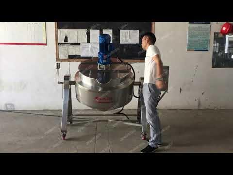 Fruit Jam Making Machine Industrial Cooking Mixer Fruit ...