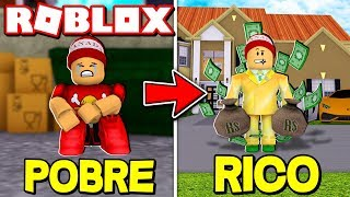 FROM POOR to RICH in ROBLOX's BILLIONAIRE SIMULATOR 💰 → Billionaire Simulator 🎮