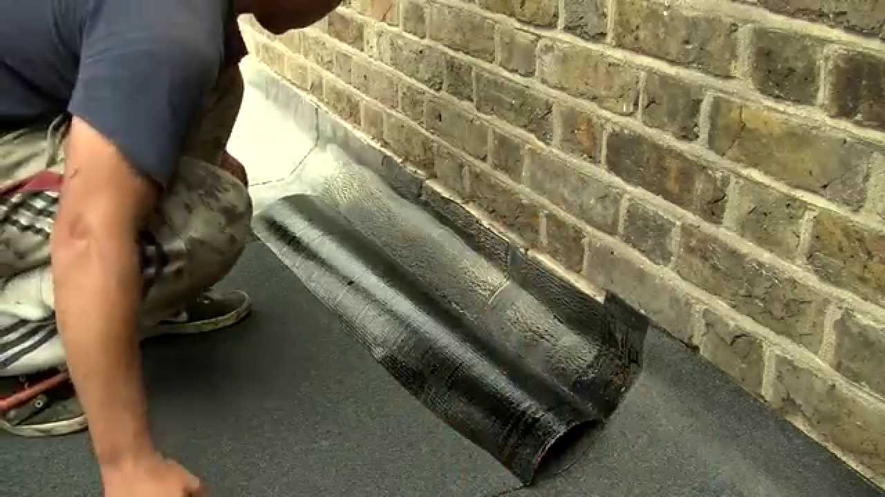 Flat Roof Repair And Construction How To Install And