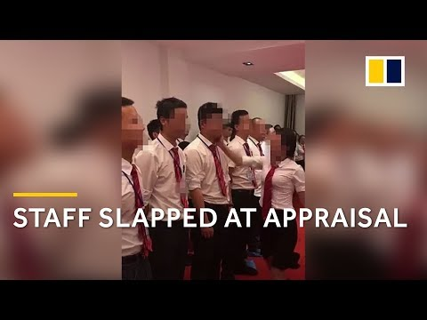 Staff slapped, made to crawl at Chinese appraisal meeting