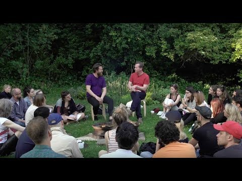 Timothy Morton and Paul Johnson 'Fire Side Chat' at Camden Arts Centre 2017