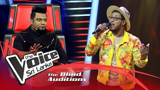 Amindu Prabodh -  Kula Gedarin (කුල ගෙදරින්) | Blind Auditions | The Voice Sri Lanka Thumbnail