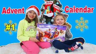 Ce este in interior? Calendar Advent Milka   Kids Video