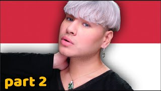 Speaking INDONESIAN ACCENT ONLY part 2 Makeup Tutorial