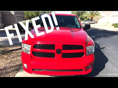 How to fix your ac 2013 Dodge Ram Hemi