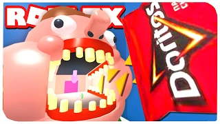 The EVIL BOB WANTS ME to EAT! | ROBLOX ON RUSSIAN |