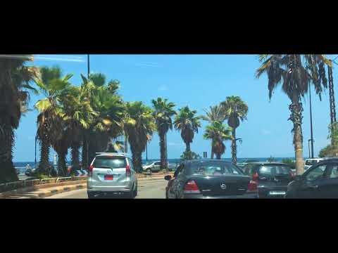 Car driving in Beirut 2018 - 3