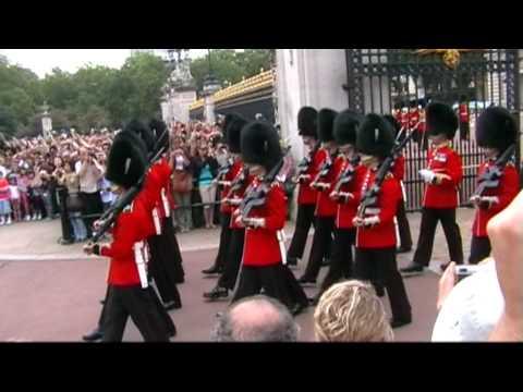 Wisseling wacht Buckingham Palace Londen