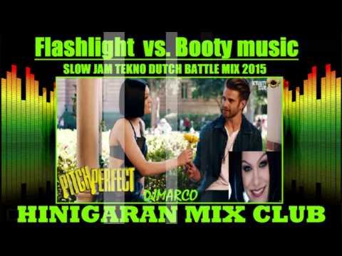 Flashlight vs. Booty music[slowjam]Tekno dutch[battle mix]djmarco
