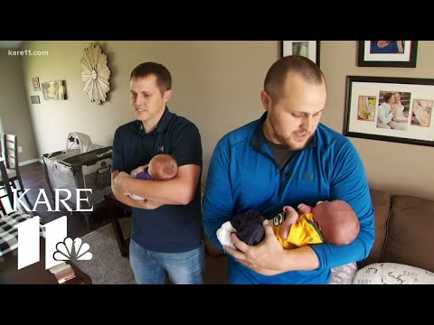 Jason Carr - #GoodNews: Twin Brothers Become Dads To Sons On Same Day