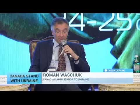 Odessa Financial Forum: Canadian Ambassador speaks about support for Ukrainian economy
