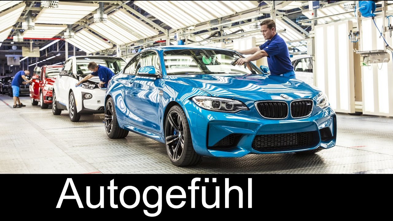 Bmw 1 Series 2 Series Production Plant Factory Leipzig Werk Autogefuhl Youtube