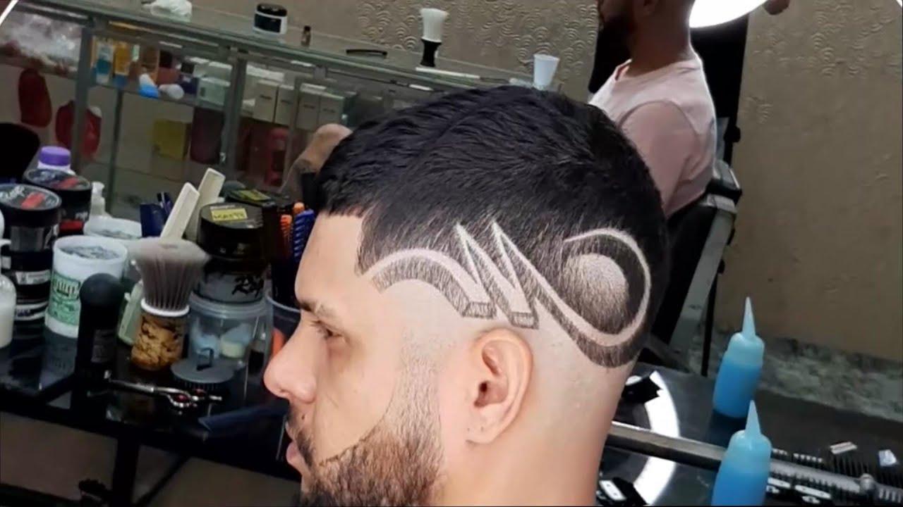 Cắt tóc nam tự do – Vẽ trên tóc | Khái quát những tài liệu liên quan đến cách vẽ tóc nam đầy đủ