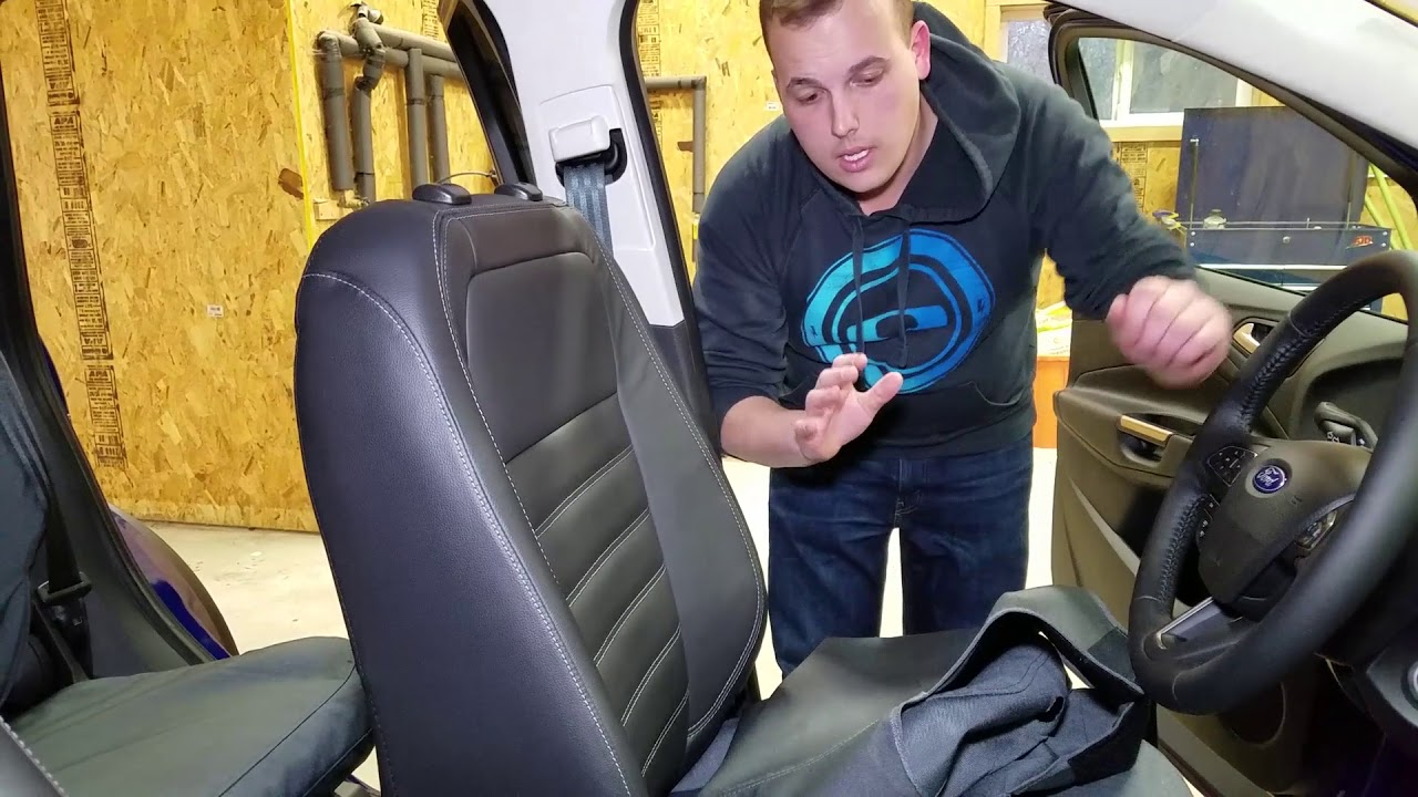 How To Install Seat Covers On A Ford Escape