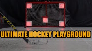 Ultimate Hockey Playground with a REAL hockey rink ! - xHockeyProducts Training Facility