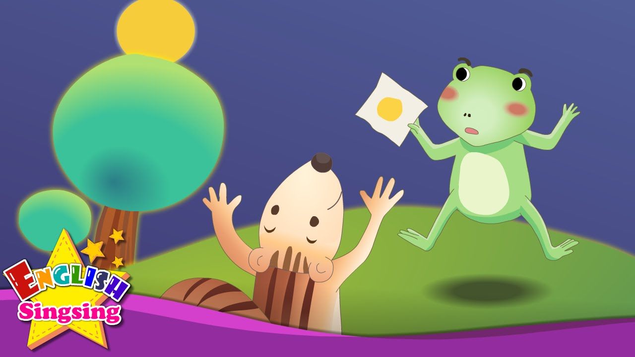 Resultado de imagen de The Green Frog - Where is it? (In/On/Under) - English animated story for Kids