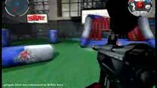 me playing a quick game of Renegade Paintball