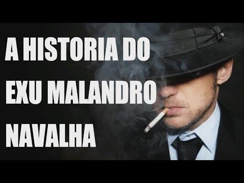 A HISTORIA DO EXU MALANDRO NAVALHA