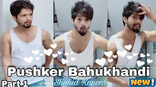 Pushker Bahukhandi Tik Tok Video Part 1| #Shahidkapoor | Musically India Compilation.